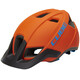 Cube CMPT Helmet orange'n'blue